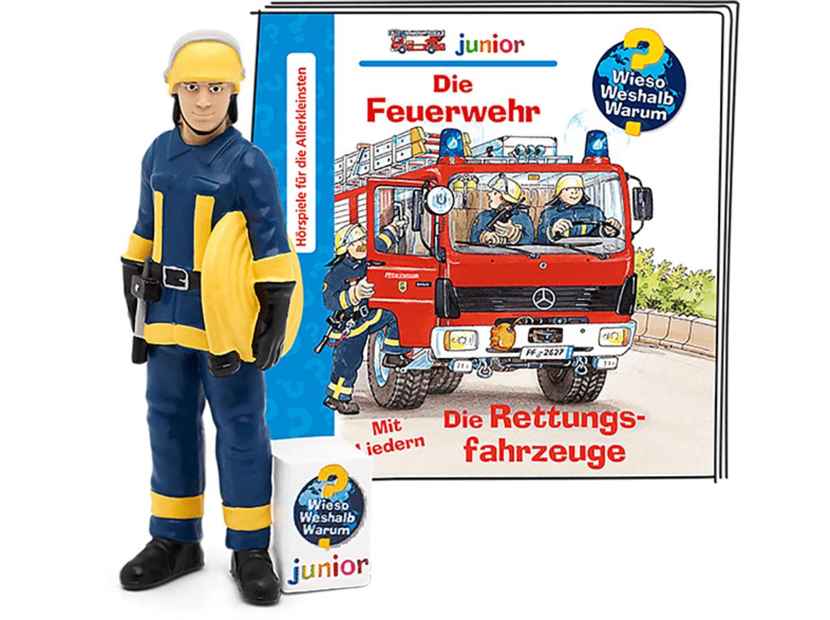 Bild 2 von BOXINE Tonie-Figur: Wieso? Weshalb? Warum? junior - Die Feuerwehr/Die Rettungsfahrzeuge Hörfigur
