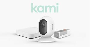 YI TECHNOLOGY Kami Wire-Free Camera Starter Kit in Weiß
