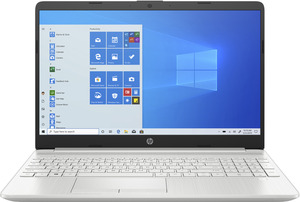 HP 15-dw2356ng, Notebook mit 15.6 Zoll Display, Core™ i5 Prozessor, 8 GB RAM, 256 GB SSD, 1 TB HDD, GeForce® MX130, Silber