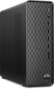 HP Slim Desktop S01-aF0300ng, Desktop-PC, Athlon Silver Prozessor, 4 GB RAM, 256 GB SSD, Radeon Graphics, Schwarz