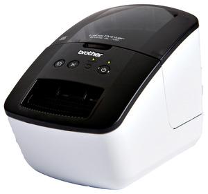BROTHER QL-700 Etikettendrucker, Schwarz/Weiß