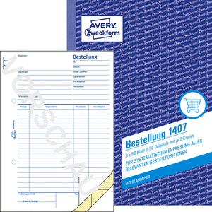 AVERY ZWECKFORM 1407 Bestellung  148 x 210 mm 148 x 210 mm A5  3x50 Blatt
