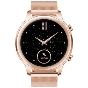 HONOR  Magic Watch 2 Smartwatch Edelstahl, Fluoroelastomer, 130-200 mm, Sakura Gold