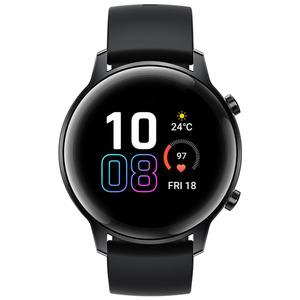 HONOR  Magic Watch 2 Smartwatch Edelstahl, Fluoroelastomer, 130-200 mm, Agate Black
