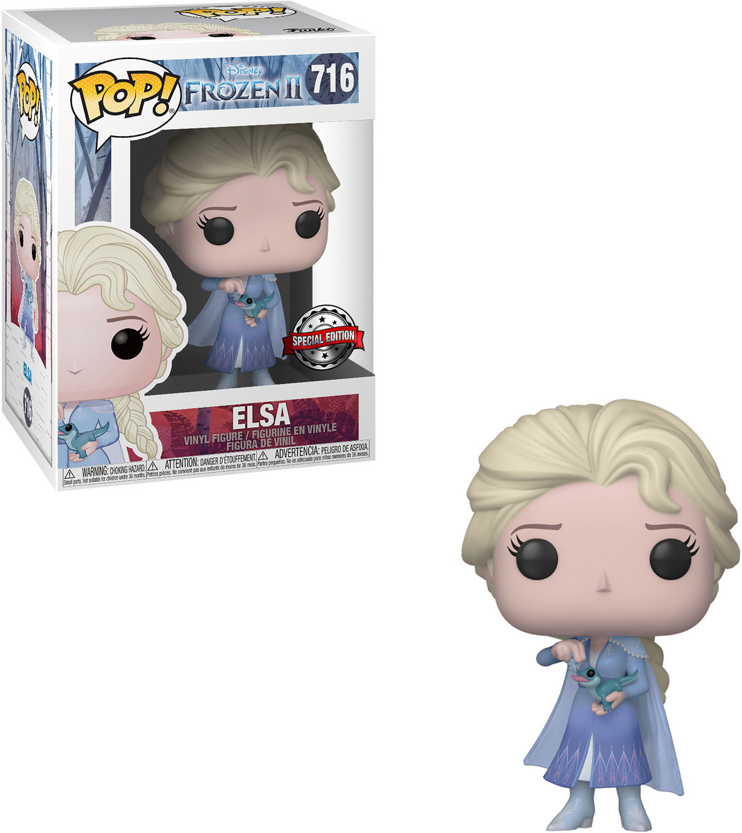 Bild 1 von FUNKO UK POP Disney Frozen: ELSA  Vinyl Figur , Mehrfarbig