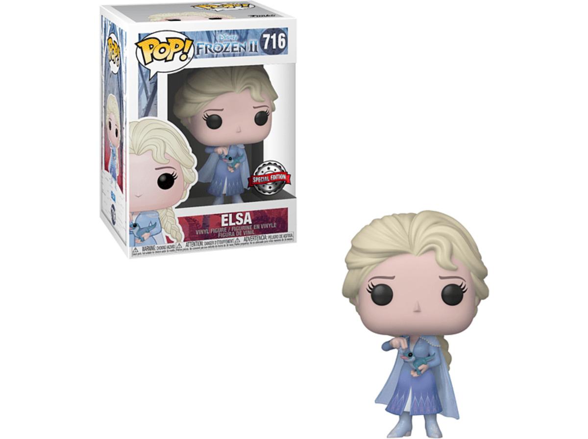 Bild 2 von FUNKO UK POP Disney Frozen: ELSA  Vinyl Figur , Mehrfarbig