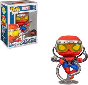 FUNKO UK POP Marvel: Marvel - Octo-Spidey (Spider-Man) Vinyl Figur , Mehrfarbig