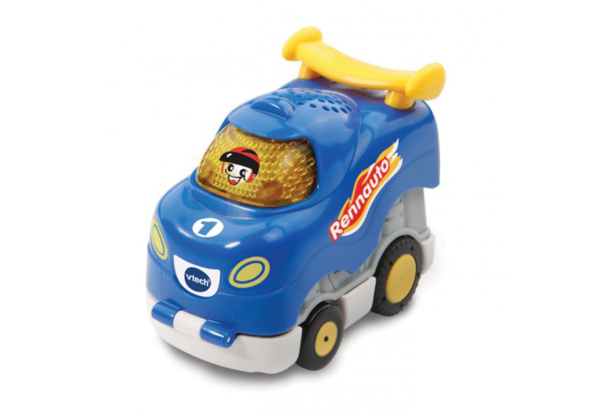 Bild 1 von VTECH Tut Tut Baby Flitzer - Press & Go Rennauto Kleinkindspielzeug, Blau