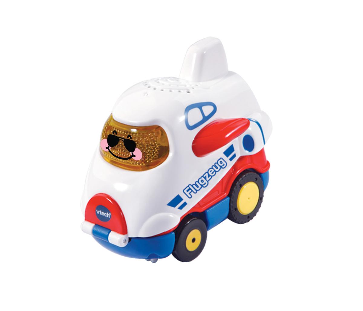 Bild 1 von VTECH Tut Tut Baby Flitzer - Press & Go Flugzeug Spielzeugauto, Mehrfarbig