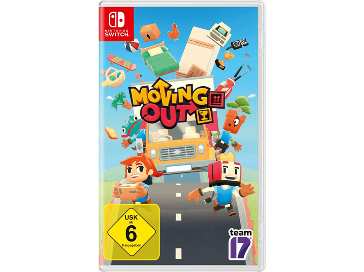 Bild 2 von SW MOVING OUT [Nintendo Switch]