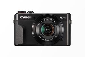 CANON PowerShot G7 X Mark II Digitalkamera Schwarz, 20.1 Megapixel, 4.2fach opt. Zoom, Touchscreen-LCD (TFT), WLAN