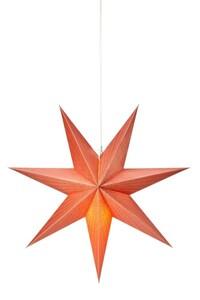 Markslöjd EMMY Hängestern orange, H 45 cm x T 16 cm x B 45 cm