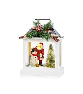 Markslöjd BING Laterne Santa /Schneemann weiß, LED, H 32,2 cm x T 18,6 cm x B 24,5 cm