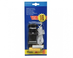 Kaemingk 3 Volt Batterie Adapter AA als Batterieersatz, 2 x AA