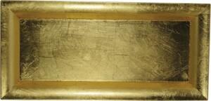 Riffelmacher Schale Kunststoff ,  36 x 17 cm, gold
