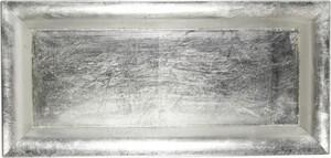 Riffelmacher Schale Kunststoff ,  36 x 17 cm, silber
