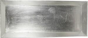 Riffelmacher Schale Kunststoff 50 x 20 cm, silber