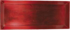 Riffelmacher Schale Kunststoff 50 x 20 cm, rot