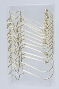 Kaemingk Metallkugelhänger ,  gold, 2,1 x 5 cm