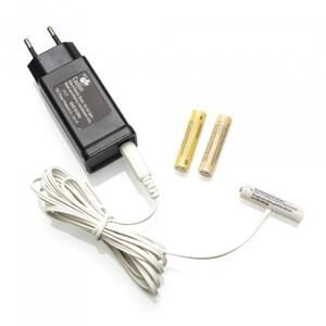Konstsmide Netzadapter für Batterieartikel mit 3 x AAA 1,5 V