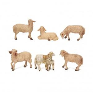 Riffelmacher Schafe 6 teilig sortiert