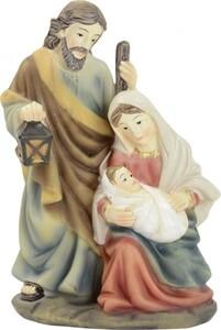Riffelmacher Krippenblock heilige Familie 8 x 12 cm