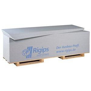 Gipskartonplatte, 260x60x1,25cm, weiß