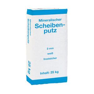 Scheibenputz, 25 Kg