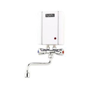 """Thermoflow              Kleindurchlauferhitzer """"Elex 3,5"""" mit Armatur"""