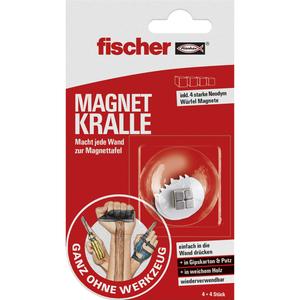 Magnet Kralle, 4x4 Stück Fischer