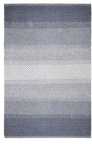 Fleckerteppich Malta in Grau ca. 100x150cm