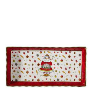 X-Mas Servierplatte , Christmas Dream , Multicolor, Rot , Keramik , Weihnachten , 33 cm , glänzend , hitzebeständig , 0071360248