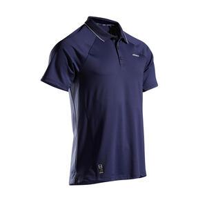 Tennis-Poloshirt Dry 500 Herren marine