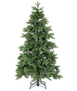 Künstlicher Weihnachtsbaum mit LED-Beleuchtung, 150 cm