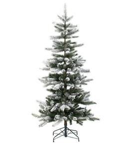 Künstlicher Weihnachtsbaum gefrostet, 150 cm
