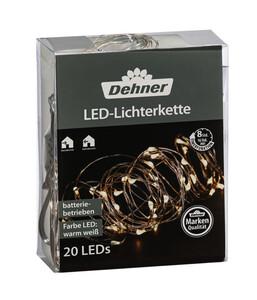 Dehner LED-Lichterkette, warmweiß
