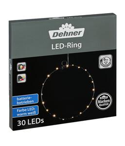 Dehner LED-Ring, warmweiß