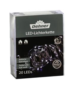 Dehner LED-Lichterkette, kaltweiß
