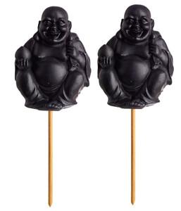Buddha-Figuren, 2er Pack