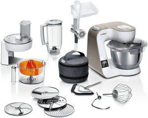 BOSCH Küchenmaschine MUM5XW40 scale mit integrierter Waage, 1000 W, 3,9 l Schüssel