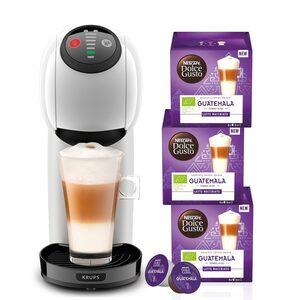 NESCAFÉ® Dolce Gusto® Kapselmaschine KP2401 Genio S, Multigetränke-Kapselkaffeemaschine mit Hochdruck, automatischer Abschaltung und XL-Funktion