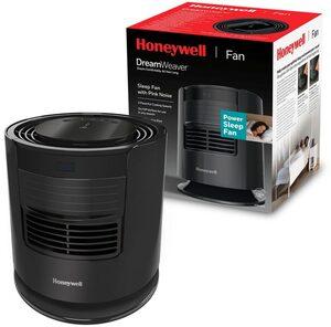 Honeywell Tischventilator HTF400 DreamWeaver™, Schlaf-Ventilator mit rosa Rauschen