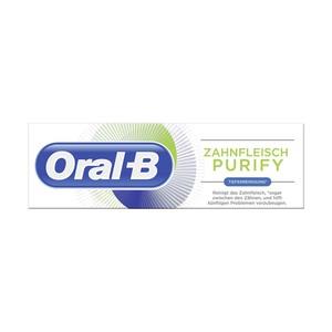 Oral-B Zahncreme Zahnfleisch & Zahnschmelz oder Zahnfleisch Purify versch. Sorten, jede 75-ml-Packung