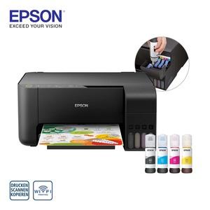 EcoTank ET-2710 · Tinte im Lieferumfang entspricht ca. 88 Patronen · inkl. Tinte für den Druck von bis zu 4.500/7.500 S. in s/w bzw. Farbe · Randlos drucken bis 10x15 cm