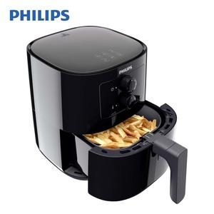 Heißluft-Fritteuse HD9200/90 Airfryer Essential Compact · frittieren, grillen, garen und backen mit wenig Öl · 800 g Fassungsvermögen · Temperatur- und Zeiteinstellung per Drehrad