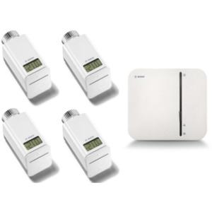 Bosch Smart Home Starter Set Heizen inkl. 4x smartes Heizkörperthermostat