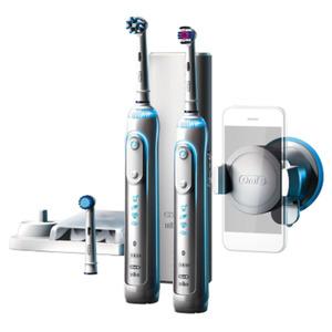 Oral-B Genius 8900 Elektrische Zahnbürste mit 2. Handstück + Bluetooth