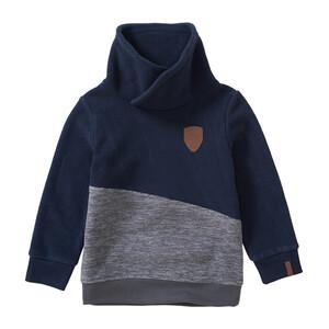 Jungen Sweatshirt mit Schalkragen