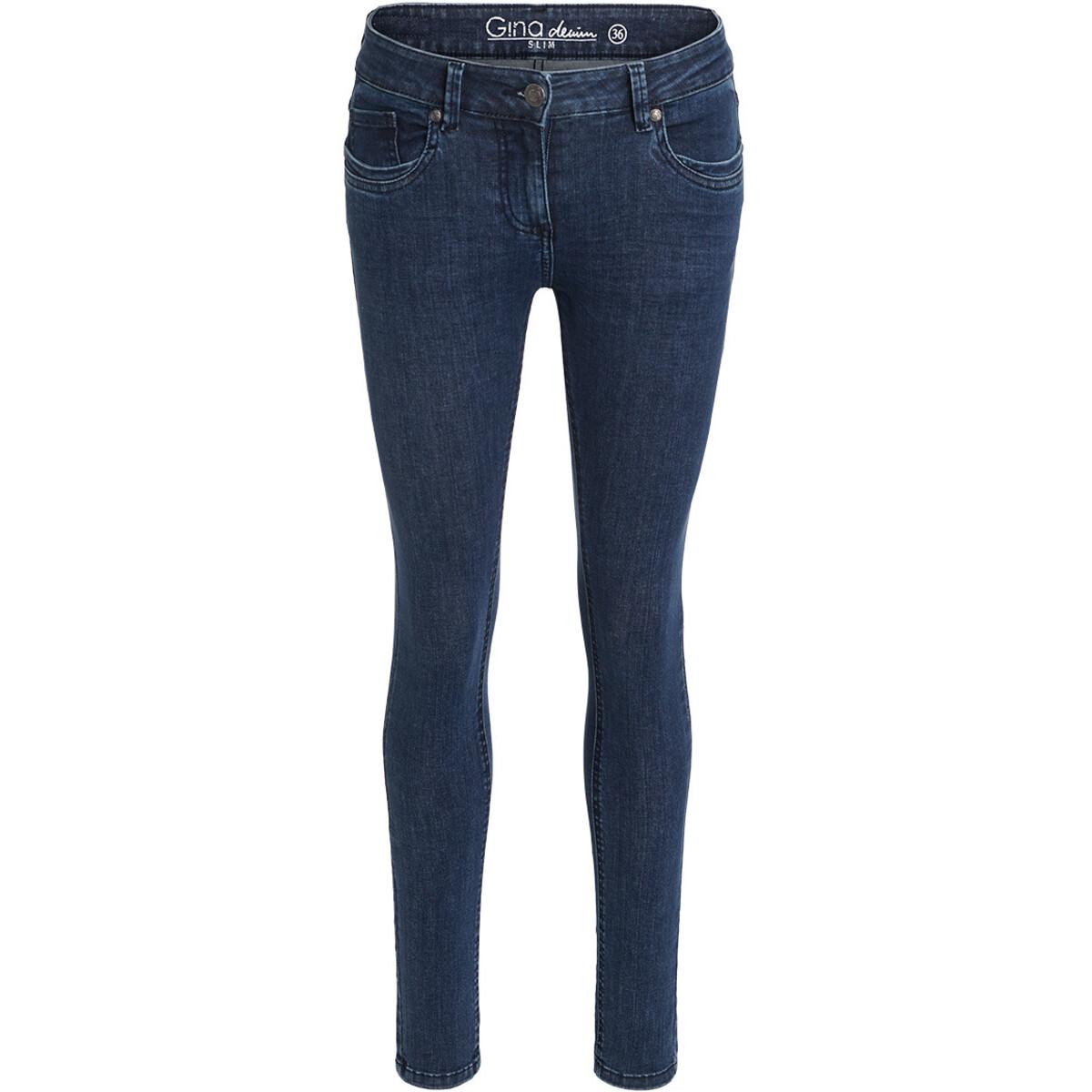 Bild 1 von Damen Superflexible-Jeans mit Used-Waschung