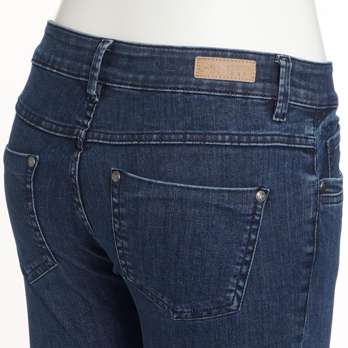 Bild 2 von Damen Superflexible-Jeans mit Used-Waschung